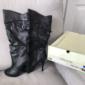 Cathy Jean black boots